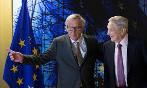 Juncker a Soros