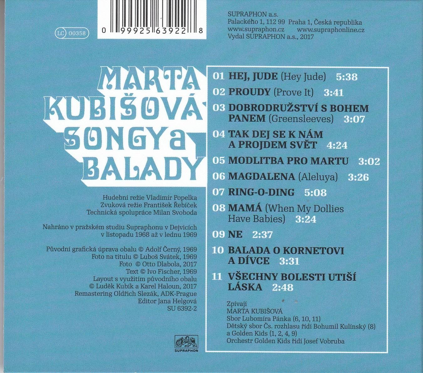 Kubisova CD revers