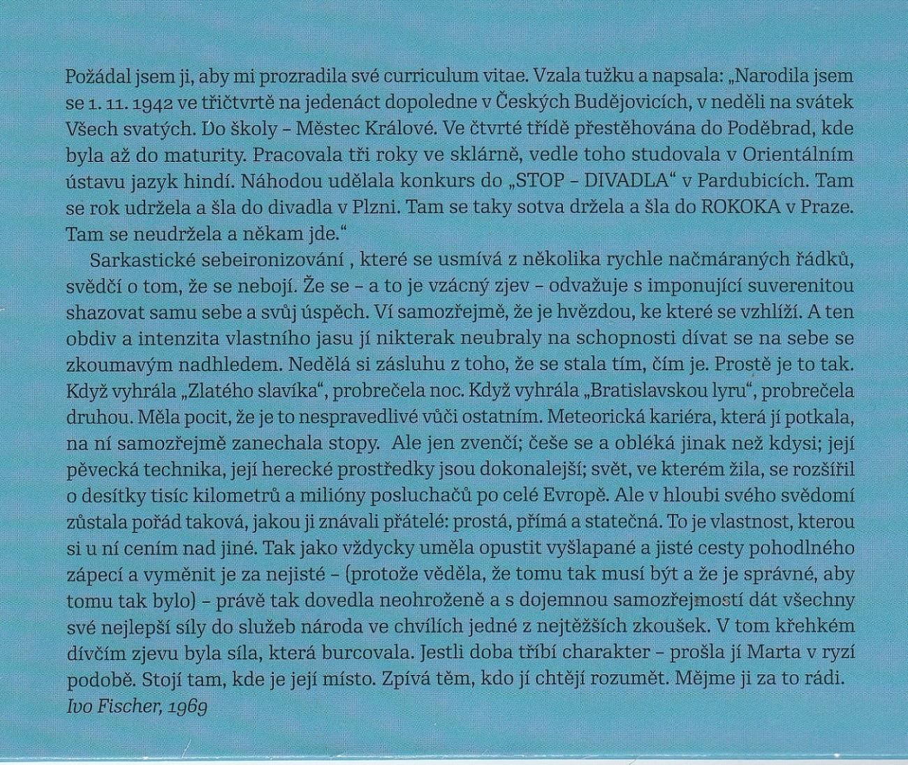 Kubisova CD text