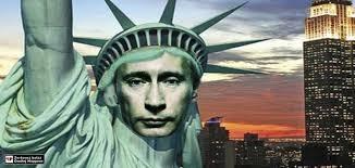 Putin socha svobody