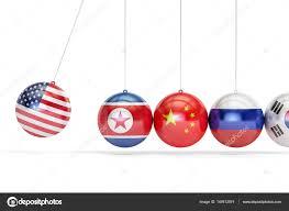 Rusko Cina Korea