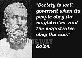 Solon s citatem
