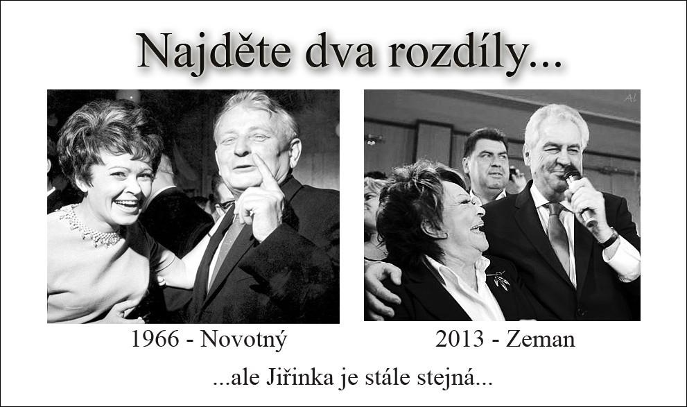 Bezcharakternost Jiriny Bohdalove Minulost Ivany Zemanove Projevy